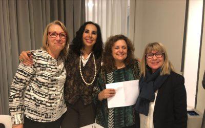 foto de Asunción Soriano, Pilar Puertas, Elisabeth Palacios y Alicia Montserrat.